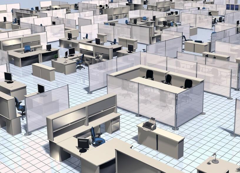 Moderne Bürokonzepte für Büroeinrichtungen