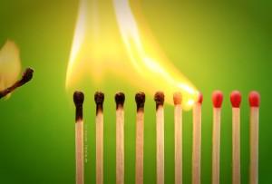 Burn-out: Ausbebrannt und kraftlos
