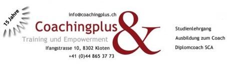 Coachingausbildung von Coachingplus.ch
