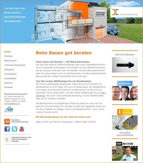 hbq-bauberatung.ch: Bauberatung total