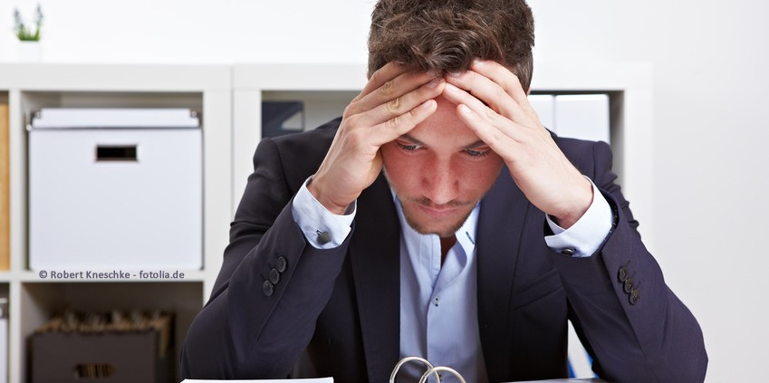 Angst den Job zu verlieren kann lähmen und die Produktivität senken.