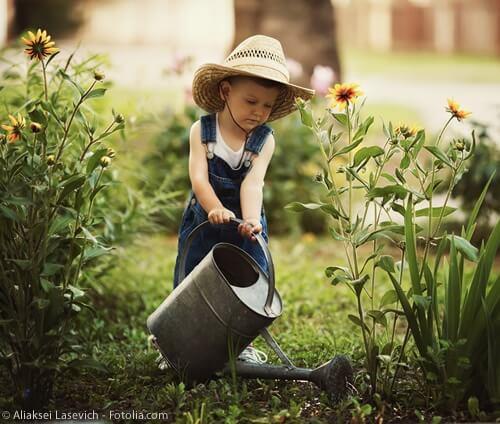 Gärtnerlehre: Früh übt sich, wer ein Gärtner werden will