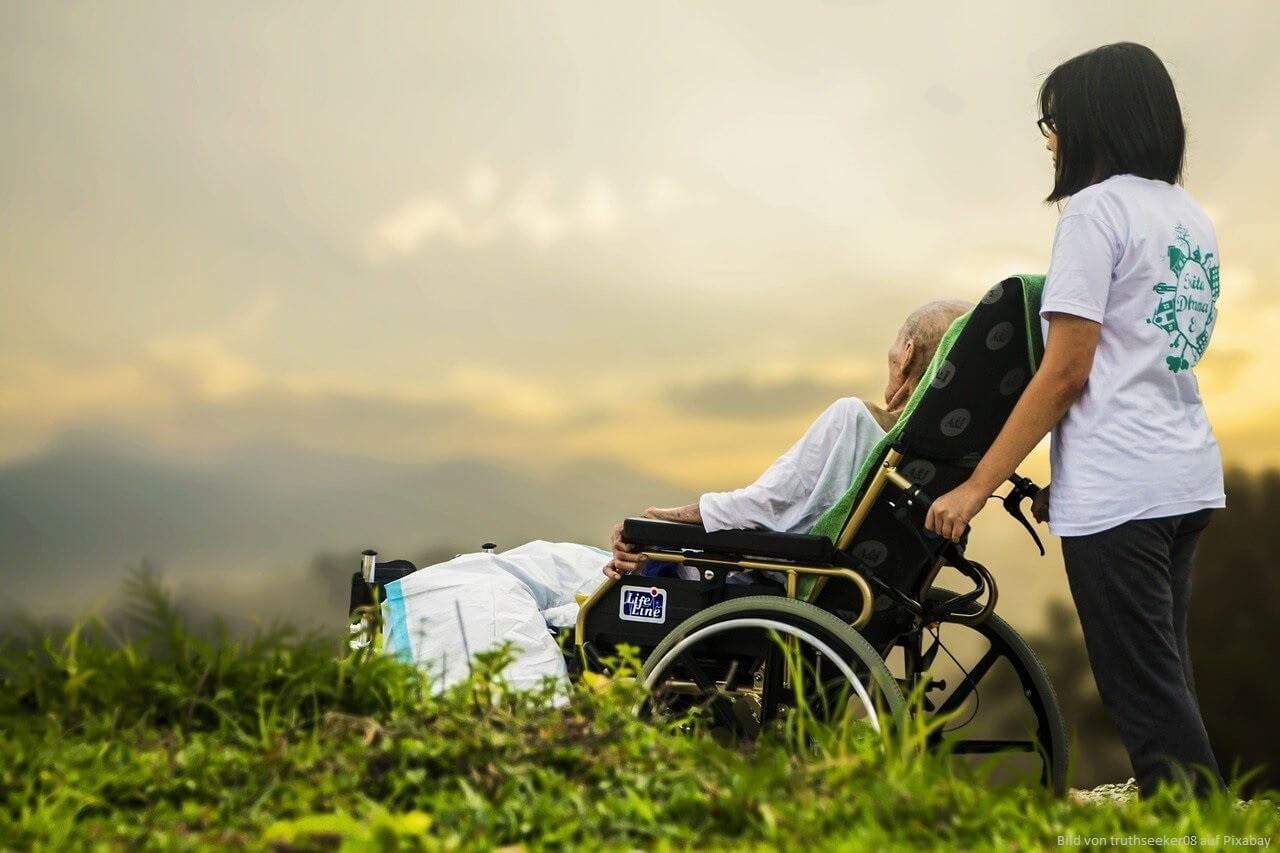 Pflegeberufe gelten allgemein als Berufe mit Sinn
